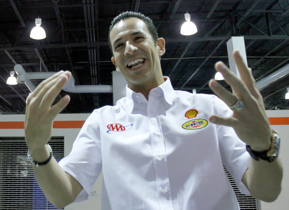 Helio castroneves pictures nascar media tour zimbio for Star motors mooresville nc