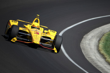 Helio Castroneves 102nd Running Of The Indianapolis 500 - Carb Day