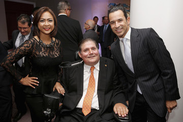 Helio Castroneves 32nd Annual Great Sports Legends Dinner to Benefit the Miami Project/Buoniconti Fund To Cure Paralysis - Legends Reception