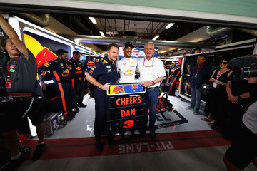 Helmut Marko F1 Grand Prix Of Abu Dhabi