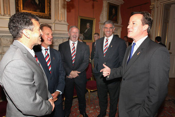 Nick Mallett Help For Heroes Rugby Challenge Squad's Visit to 10 Downing Street