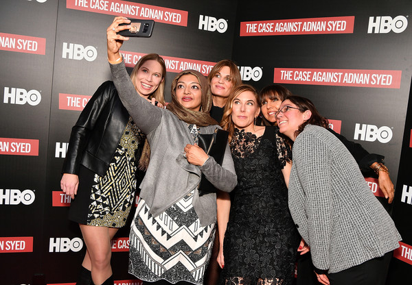 NY Premiere Of HBO's 'The Case Against Adnan Syed' At Pure Nonfiction [the case against adnan syed,event,premiere,susan simpson,jemima khan,rabia chaudry,amy berg,laura estrada sandoval,pure non fiction,ny,hbo,premiere]