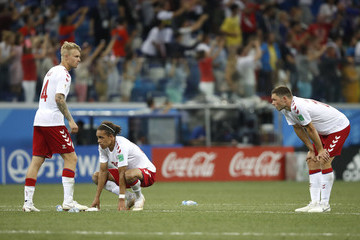 Henrik Dalsgaard Croatia vs. Denmark: Round Of 16 - 2018 FIFA World Cup Russia