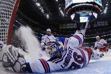 Henrik Lundqvist Kevin Klein 2014 NHL Stanley Cup Final - Game One