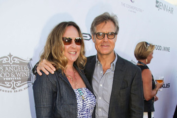 Henry Czerny with friendly, Wife Claudine Cassidy