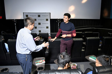 Henry Golding Showcase Cinemas Hosts 'Crazy Rich Asians' Actor Henry Golding At Red Carpet Event At College Point Multiplex Cinemas