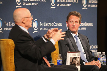 Henry Paulson Timothy Geithner Talks About His Book
