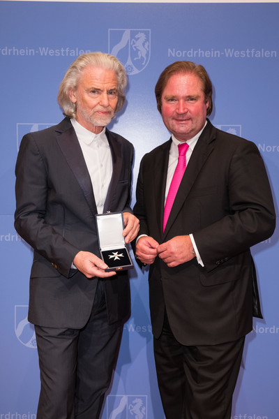 Dr. Hermann Buehlbecker Awarded With The Order Of Merit