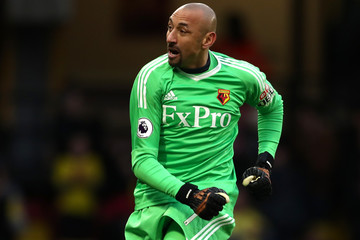 Heurelho Gomes Watford v Bristol City - The Emirates FA Cup Third Round