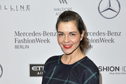 Susan Hoecke attends the Hien Le show during the Mercedes-Benz Fashion Week Berlin A/W 2017 at Kaufhaus Jandorf on January 17, 2017 in Berlin, Germany.