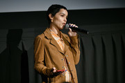 """Zoe Kravitz speaks during the """"High Fidelity"""" New York Premiere at The Metrograph on February 13, 2020 in New York City."""