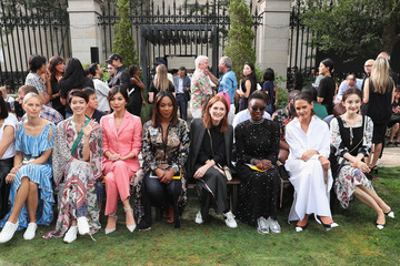 Hikari Mori Tory Burch Spring Summer 2019 Fashion Show - Front Row