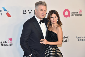 Hilaria Baldwin Elton John AIDS Foundation Commemorates Its 25th Year and Honors Founder Sir Elton John During New York Fall Gala - Arrivals