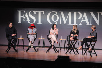 Hilary Duff Darren Star The Fast Company Innovation Festival - Inside TV Land's Hit Show 'Younger'
