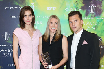 Hilary Rhoda Inside the Fragrance Foundation Awards