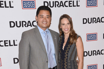 Hilary Swank USO's 'Comfort Crew For Military Kids' Event Hosted By Hillary Swank