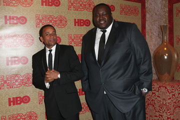 Hill Harper Quinton Aaron Stars at HBO's Golden Globes Afterparty — Part 2