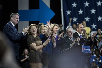 Hillary Clinton Andrew Cuomo Hillary Clinton Holds Post-Super Tuesday Rally in NYC