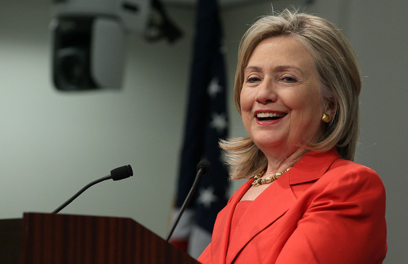 Clinton Delivers Foreign Policy Speech At Council On Foreign Relations
