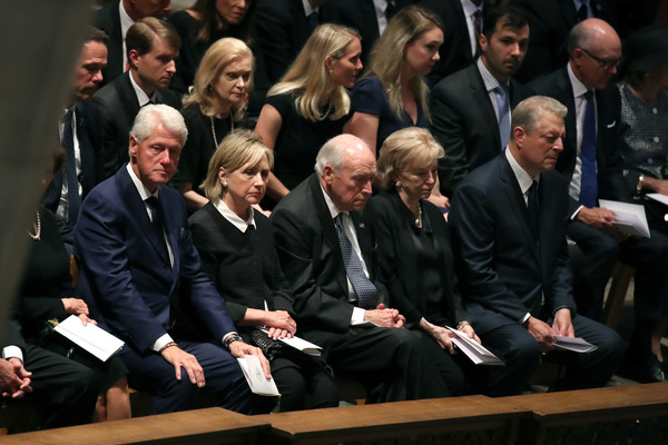 National Cathedral Hosts Memorial Service For Sen. John McCain (R-AZ)