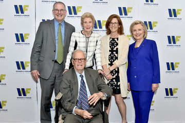 Hillary Clinton The 8th Annual Elly Awards Hosted By The Women's Forum Of New York - Arrivals