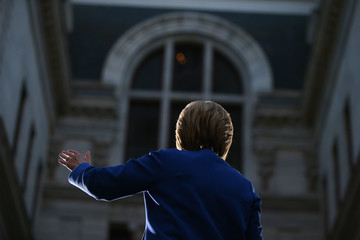 Hillary Clinton Hillary Clinton Holds Philadelphia Campaign Rally One Day Before PA Primary