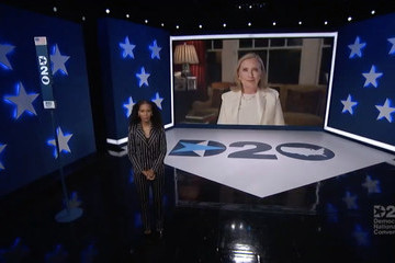 Hillary Clinton Democrats Hold Unprecedented Virtual Convention From Milwaukee