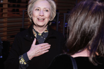 Hillary Clinton The Nearness of You Benefit Concert