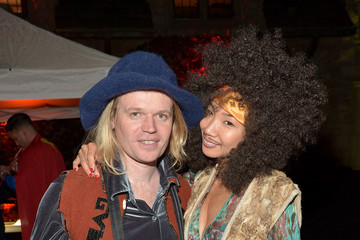 Hiromi Oshima Playboy and Hugh Hefner Host Annual Halloween Party at the Playboy Mansion