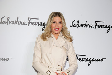Hofit Golan Front Row at the Salvatore Ferragamo Show