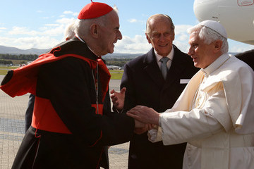 Cardinal Keith O'Brien His Holiness Pope Benedict XVI Pays A State Visit To The UK - Day 1