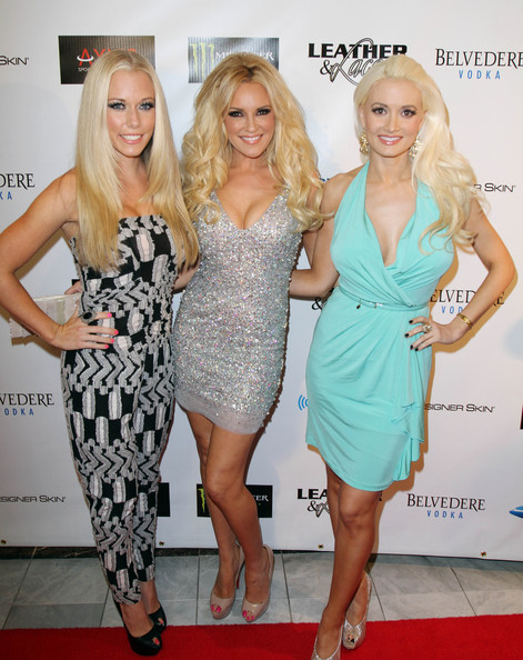 Holly Madison L R Kendra Wilkinson Bridget Marquardt And
