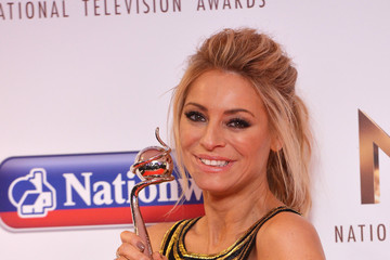 Holly Willoughby National Television Awards - Winners Room