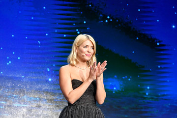 Holly Willoughby MSC Cruises Naming Ceremony For The MSC Bellissima