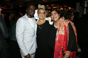 (L-R) Daniel Kaluuya, Kasi Lemmons, and Gurinder Chadha attend the Hollywood Foreign Press Association and The Hollywood Reporter Celebration of the 2020 Golden Globe Awards Season and Unveiling of the Golden Globe Ambassadors at Catch on November 14, 2019 in West Hollywood, California.