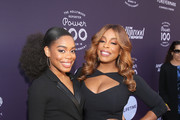 Dia Nash (L) and Niecy Nash attend The Hollywood Reporter's 2017 Women In Entertainment Breakfast at Milk Studios on December 6, 2017 in Los Angeles, California.