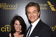 Writer Lisa Oz (L) and Dr. Mehmet Oz attend The Hollywood Reporter's 5th Annual 35 Most Powerful People in New York Media on April 6, 2016 in New York City.