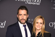 Jason Jones and Samantha Bee attend the The Hollywood Reporter's 9th Annual Most Powerful People In Media at The Pool on April 11, 2019 in New York City.