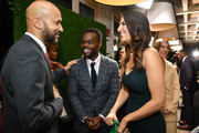 (L-R) Keegan-Michael Key, William Jackson Harper and D'Arcy Carden attend The Hollywood Reporter & SAG-AFTRA 3rd annual Emmy Nominees Night presented by Heineken and Anastasia Beverly Hills at Avra Beverly Hills Estiatorio on September 20, 2019 in Beverly Hills, California.