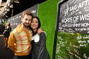 (L-R) Michael Angarano and Maya Erskine attend The Hollywood Reporter & SAG-AFTRA 3rd annual Emmy Nominees Night presented by Heineken and Anastasia Beverly Hills at Avra Beverly Hills Estiatorio on September 20, 2019 in Beverly Hills, California.