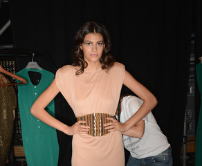 Alisar Ailabouni Holy Ghost: Backstage - Mercedes-Benz Fashion Week Spring/Summer 2013