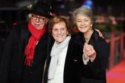 (L-R) Festival director Dieter Kosslick, Liliana Cavani and Charlotte Rampling attend the Homage Charlotte Rampling Honorary Golden Bear award ceremony during the 69th Berlinale International Film Festival Berlin at Berlinale Palace on February 14, 2019 in Berlin, Germany. Rampling is this years recipient of the Honorary Golden Bear Award of the Berlinale.