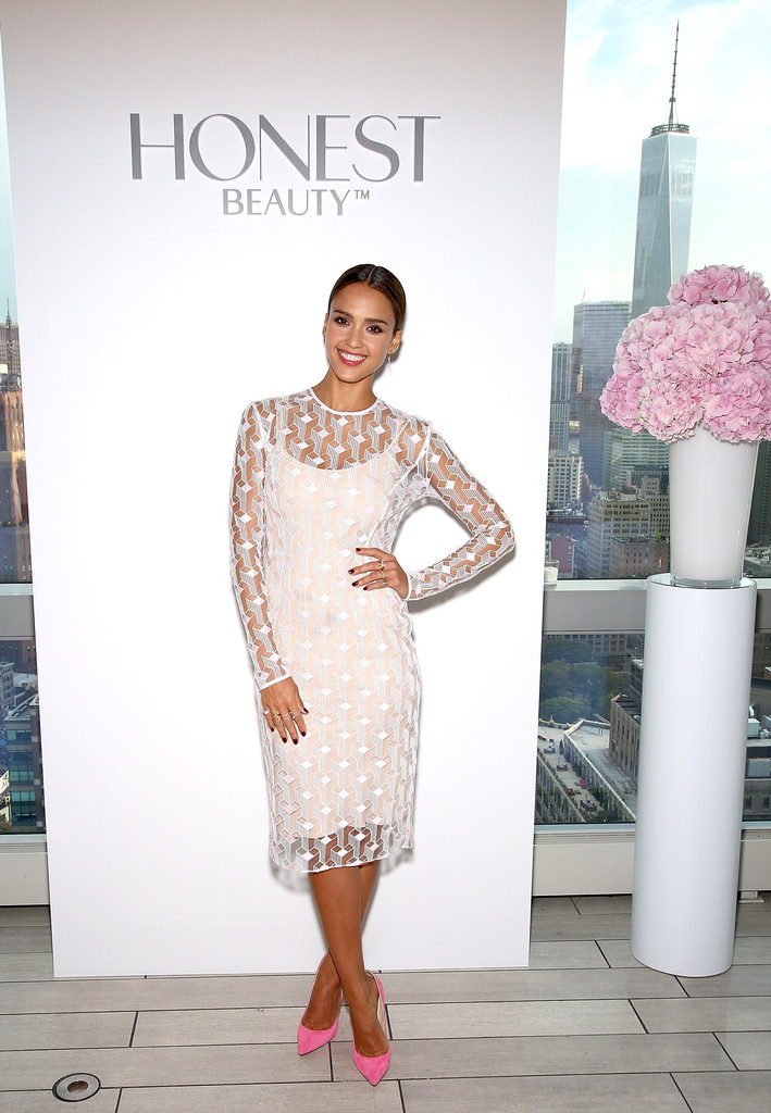 Beauty Launch The Mac Punk Couture Collection: Jessica Alba Photos Photos