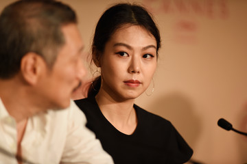 Hong Sangsoo 'The Day After (Geu Hu)' Press Conference - The 70th Annual Cannes Film Festival