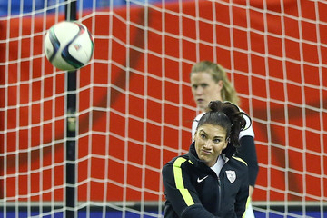Hope Solo US Press Conference & Training Session - FIFA Women's World Cup 2015