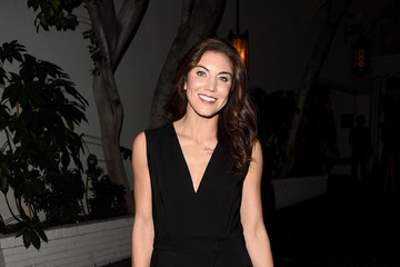 Hope Solo W Magazine Celebrates the 'Best Performances' Portfolio and the Golden Globes with Audi and Dom Perignon - Arrivals