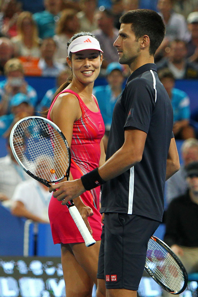 ana ivanovic and novak djokovic relationship with roger