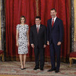 Horacio Manuel Cartes Jara Spanish Royals Host a Lunch for President of Paraguay