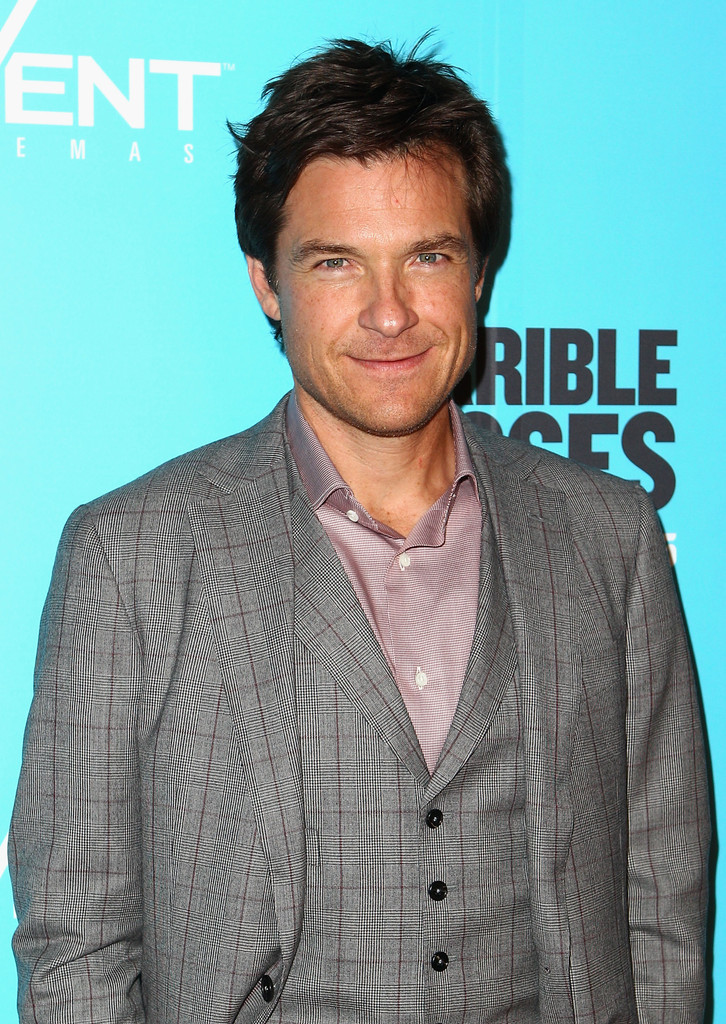 "Jason Bateman Celebrates Two Emmy Nods With Wife At Ozark: Jason Bateman In ""Horrible Bosses"" Sydney Premiere"