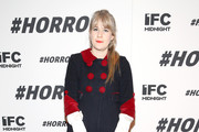 """Tennessee Thomas attends the New York premiere of """"#Horror"""" at MoMA Titus One on November 18, 2015 in New York City."""